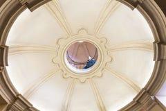 Dak van het paleis van Venaria Reale, Italië Stock Foto's