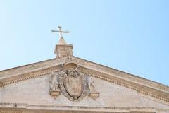 Dak van Pantheon Royalty-vrije Stock Afbeeldingen