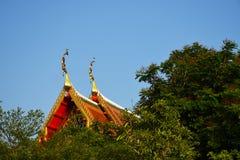 Dak van tempel Royalty-vrije Stock Foto