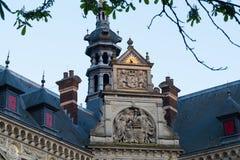 Dak van Universitaire Zaal van de Universiteit van Utrecht, Nederland Royalty-vrije Stock Afbeeldingen