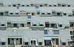 Dak van woningshuis Stock Foto
