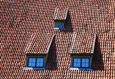 Dak-vensters Stock Afbeeldingen