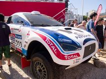 Dakar 2010-argentina.chile Stock Images