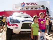 Dakar 2010-argentina.chile Royalty Free Stock Image