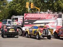 Dakar 2010 argentina.chile Image stock