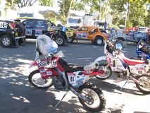 Dakar 2010 argentina.chile Photographie stock