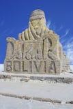 Dakar Boliva statue Royalty Free Stock Photography