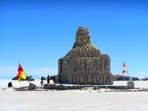 Dakar in de provincie van Oruro stock foto