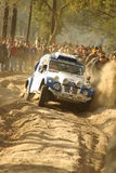 Dakar rally 2007. Marques / George, Citroen 2CV, Lisbon-Dakar rally 2007 Stock Photography
