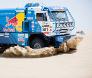 Dakar Red Bull race team Royalty Free Stock Image