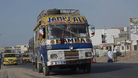 Dakar stock video