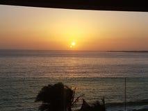 Dakar-Sonnenuntergang 2 Stockfotografie