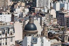 Daken en koepels, Buenos aires Argentinië Stock Fotografie