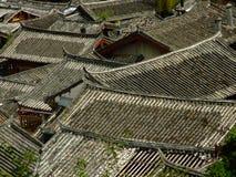 Daken in Lijiang Stock Afbeelding