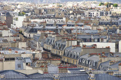 Daken in Parijs Royalty-vrije Stock Foto