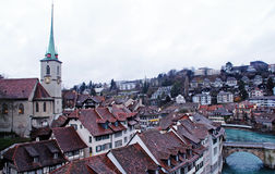 Daken van Bern - hoofdstad van Zwitserland Royalty-vrije Stock Foto