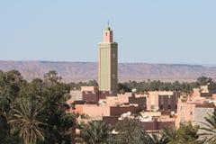 Daken van Erfoud in Marokko Stock Foto