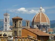 Daken van Florence stock afbeeldingen