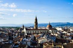 Daken van Florence 3 Stock Afbeeldingen