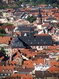 Daken van Heidelberg stock afbeelding