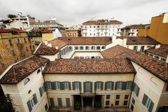 Daken van Milaan royalty-vrije stock foto's