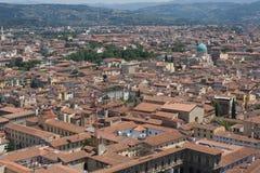 Daken van oude stad royalty-vrije stock afbeelding