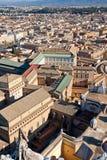 Daken van oude stad Royalty-vrije Stock Fotografie