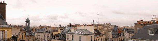 Daken van Parijs Royalty-vrije Stock Foto