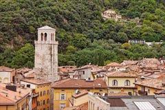 Daken van Riva del Garda stock foto's