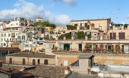 Daken van Rome royalty-vrije stock foto's
