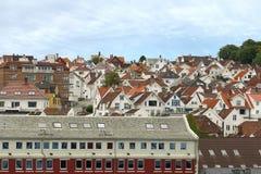 Daken van Stavanger. Stock Afbeelding