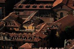 Daken van Turijn Royalty-vrije Stock Foto's