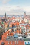 Daken van Wroclaw royalty-vrije stock foto's