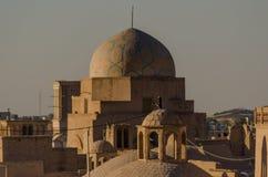 Daken van Yazd Royalty-vrije Stock Fotografie