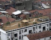 Daken in Wuhan Stock Fotografie