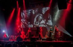 Dakh Daughters concert in Sentrum, Kiev, 23.04.2014 Royalty Free Stock Photos