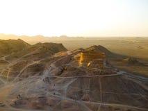Dakhmeh dans Yazd, Iran photo stock