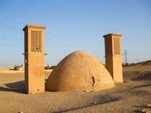 Dakhmeh em Yazd, Irã imagem de stock
