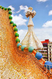 Dakhuis Casa Batlo Stock Foto's