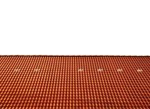 Dakhuis met betegeld dak Stock Afbeelding