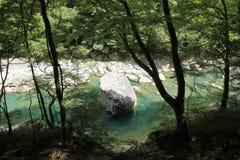 Dakigaeri gorge. In Senboku, Akita, Japan stock photo