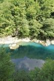 Dakigaeri gorge. In Senboku, Akita, Japan royalty free stock photos