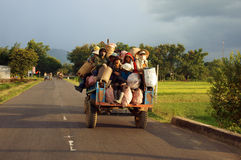 DAKLAK,越南9月02日 免版税库存照片