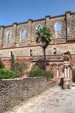 Daklooze Oude Kathedraal Royalty-vrije Stock Fotografie