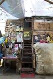 Dakloze schuilplaats Stock Foto