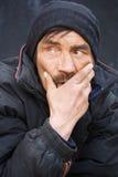 Daklozen. stock foto
