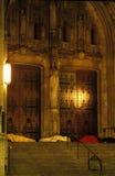 Daklozen onder Jesus royalty-vrije stock foto's