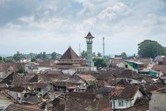 Dakmening van Malang stock fotografie