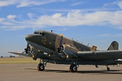 Dakota, Aircraft, C-47, Heritage Stock Image