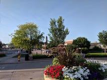 Dakota Ave w W centrum Sioux spadkach Obraz Royalty Free